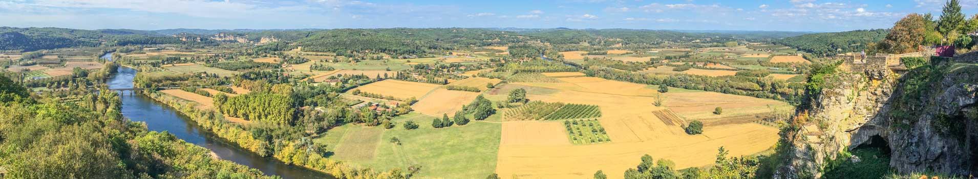 Vacances au bord de la Dordogne