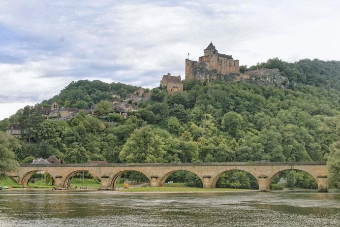 camping près château de Castelnaud