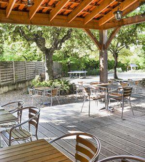 terrasse bar camping la sagne